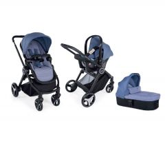 Carucior 3 in 1 Chicco Trio Best Friend Light, Avio, 0luni+