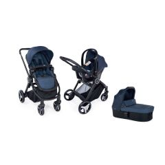 Carucior 3 in 1 Chicco Trio Best Friend Light, Oxford, 0luni+