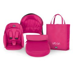 Kit husa carucior Chicco Urban, Cherry