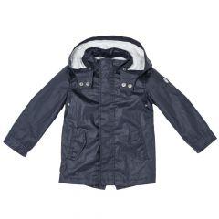 Jacheta copii Chicco, gluga, baieti, albastru, 104