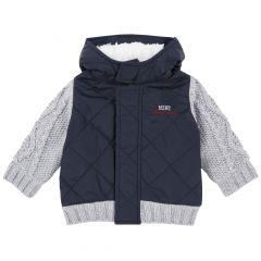 Jacheta copii Chicco, albastru inchis, 56