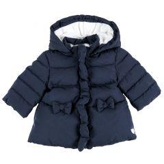 Jacheta copii Chicco, albastru inchis, 86
