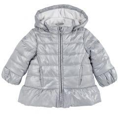 Jacheta copii Chicco, gri deschis, 86