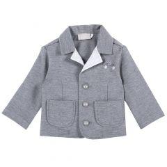 Jacheta copii Chicco, gri inchis, 68