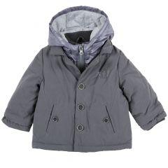 Jacheta copii Chicco, gri inchis, 98