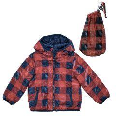 Jacheta copii Chicco, reversibila, albastru inchis, 128