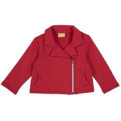 Jacheta copii chicco, rosu, 104