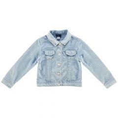 Jacheta copii denim Chicco, albastru deschis, 98