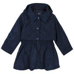 Jacheta copii Chicco, gluga detasabila, albastru inchis, 128