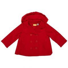 Jacheta impermeabila copii Chicco, fetite, rosu, 98