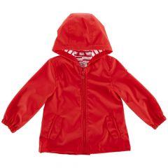 Jacheta copii Chicco Parka, rosu cu roz, 116