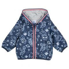 Jacheta copii Chicco, albastru inchis, 92