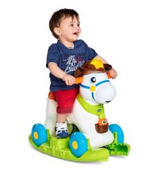 Jucarie Chicco 3 in 1 Baby Rodeo, 1-3 ani