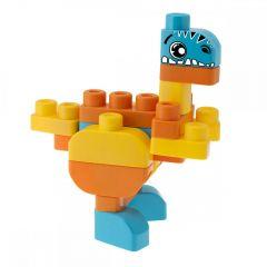 Jucarie Chicco App set 30 piese constructie 3D Dinozauri, 12luni+