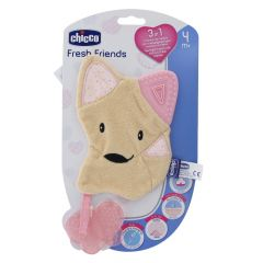 Jucarie gingivala 3 in 1 Chicco Fresh Friends Girl