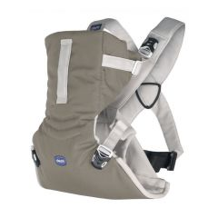 Marsupiu ergonomic Chicco Easy Fit, DarkBeige, 0luni+