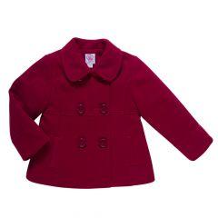 Palton Chicco, rosu inchis, 80