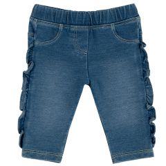 Pantalon copii Chicco, albastru deschis, 68