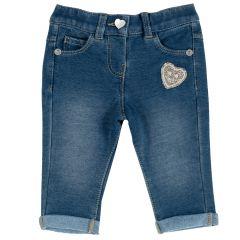 Pantalon copii Chicco, albastru deschis, 62