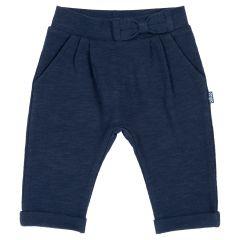 Pantalon copii Chicco, albastru inchis, 68