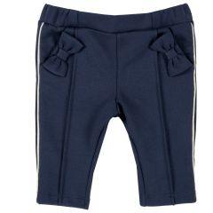 Pantalon copii Chicco, albastru inchis, 62