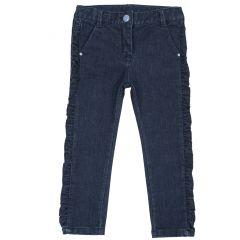 Pantalon copii Chicco, albastru inchis, 128