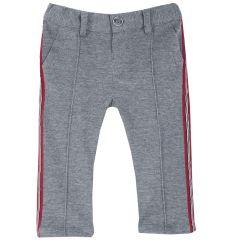 Pantalon copii Chicco, gri inchis, 104