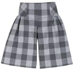 Pantalon copii Chicco, gri inchis, 122