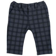 Pantalon copii Chicco, negru cu albastru, 62