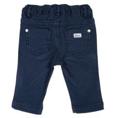 Pantalon lung Chicco, albastru inchis, 74
