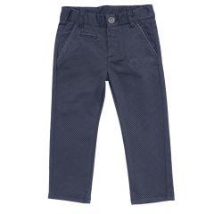 Pantalon lung Chicco, negru cu gri, 110
