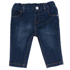 Pantalon lung copii Chicco, albastru, 86