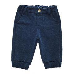 Pantalon lung copii Chicco, albastru, 68