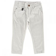 Pantalon lung copii Chicco, gri deschis, 116