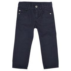 Pantalon lung pentru copii Chicco, baieti, bleumarin, 98