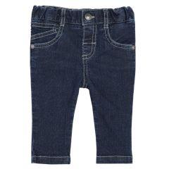 Pantalon lung copii, Chicco, pentru baieti, albastru denim, 68
