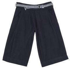 Pantalon lung fetite, Chicco, albastru inchis, 128