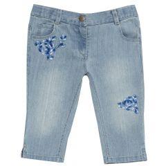 Pantalon lung fete, Chicco, albastru, 116