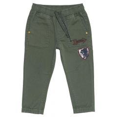 Pantalon copii Chicco, baieti, verde kaki, 24502