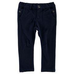 Pantalon lung copii Chicco, albastru inchis, 128