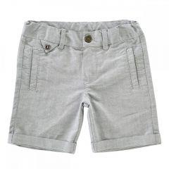 Pantalon scurt baieti, Chicco, gri, 122