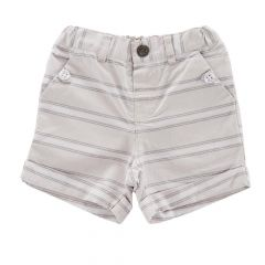 Pantalon scurt copii Chicco, baieti, gri, 52687
