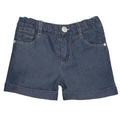Pantalon scurt copii Chicco, fetite, denim, 116