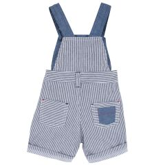 Pantalon scurt copii Chicco, albastru cu alb, 62