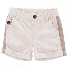 Pantalon scurti copii Chicco, baieti, crem, 74