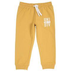 Pantaloni copii Chicco, galben auriu, 128