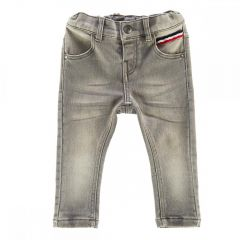 Pantaloni copii Chicco, gri, 104