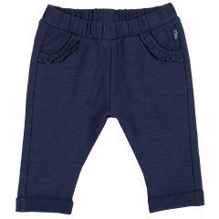 Pantalon lung copii Chicco, albastru inchis, 98