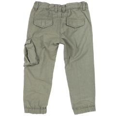 Pantalon lung copii Chicco, verde deschis, 122