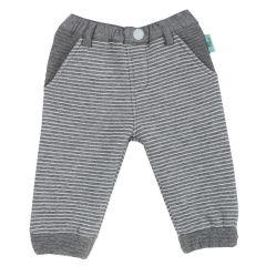 Pantalon copii Chicco, gri deschis, 62